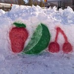 fruit-snow